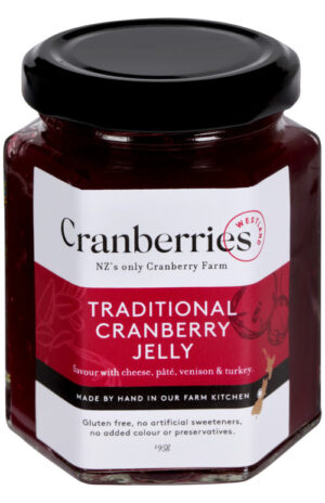 Traditional Cranberry Jelly