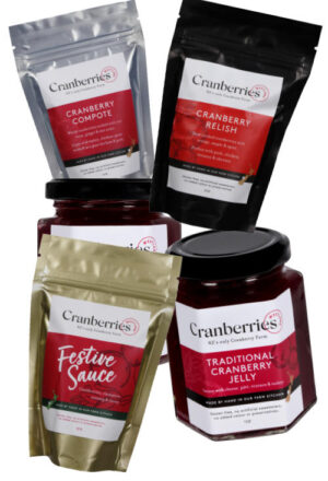 Cranberry products gift box